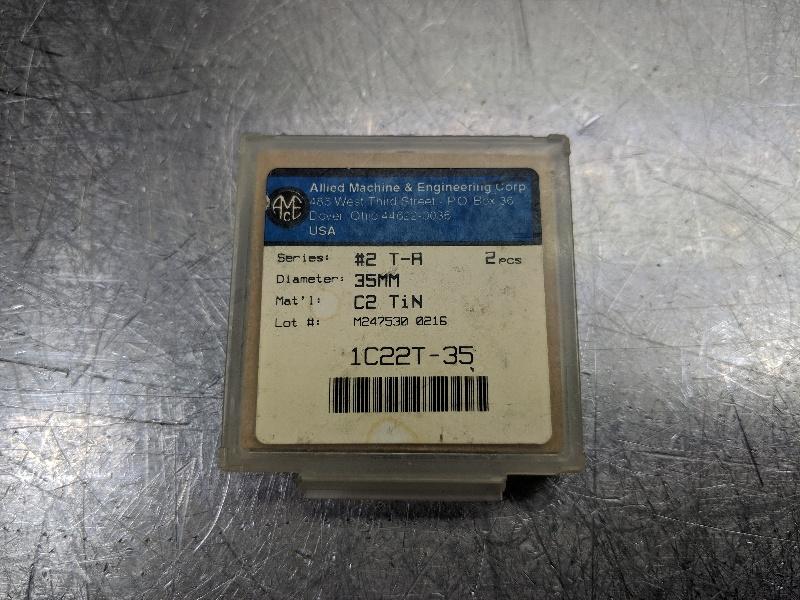 Amec Carbide Spade Insert Series #2 T-A 1C22T-35 (LOC2644A)