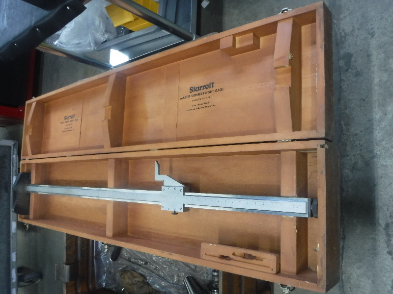 Starett Master Vernier Height Gage No.254 (STK)