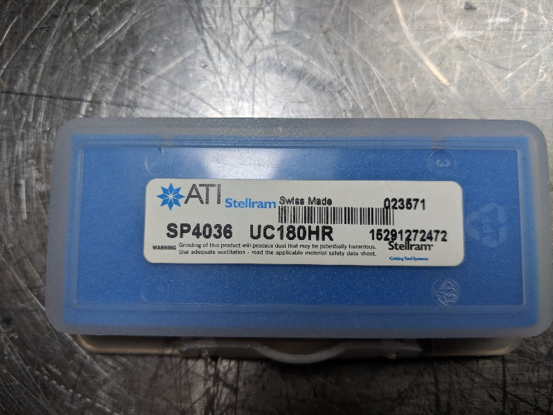 ATI Stellram Carbide Inserts Qty2 TM21E12UN SFZ 2 pcs