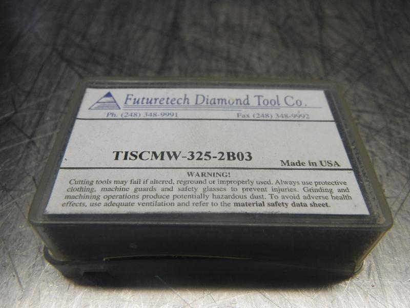 Futuretech PCBN Carbide Inserts QTY2 SCMW-325-2 B03 (LOC887)