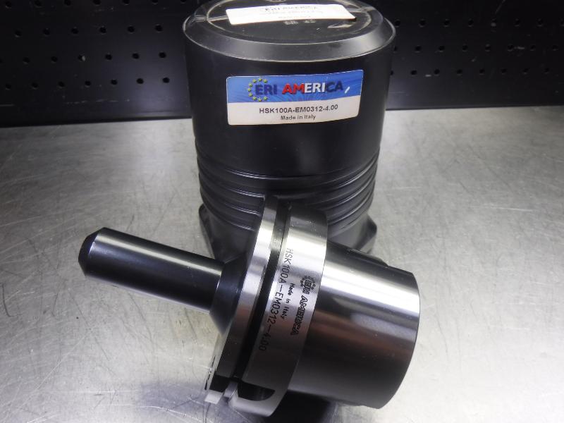 """ERI America HSK 100A 5/16"""" Endmill 4"""" Pro HSK100A-EM0312-4.00 (LOC1743A)"""