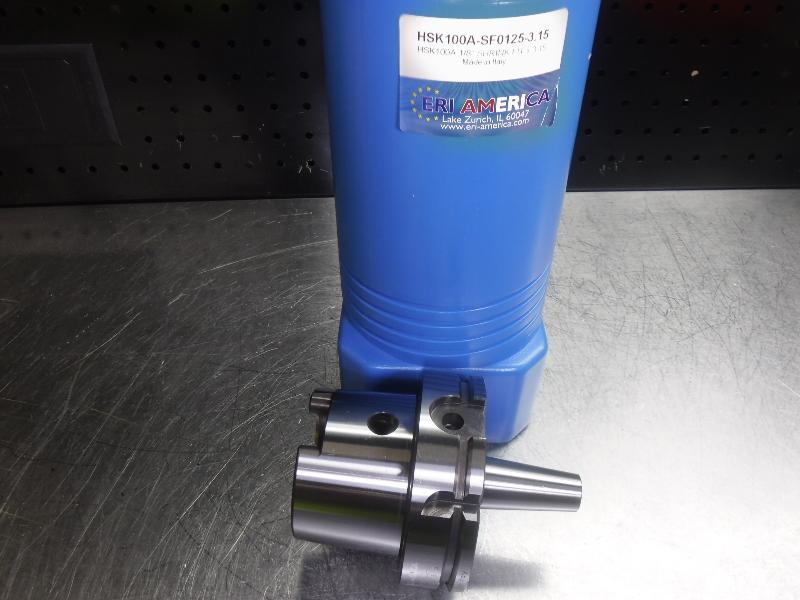 """ERI America HSK 100A 1/8"""" Shrink Fit 80mm Pro HSK100A-SF125-3.15 (LOC1339A)"""