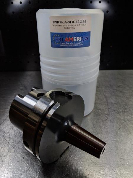 "LOC1663B ERI America HSK 100A 3//4/"" Shrink Fit 160mm Pro HSK100A-SF0750-6.30"