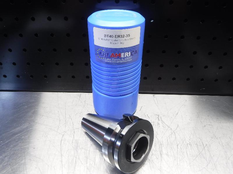 ERI America BT40 ER32 Collet Chuck 35mm Projection BT40-ER32-35 (LOC2027A)