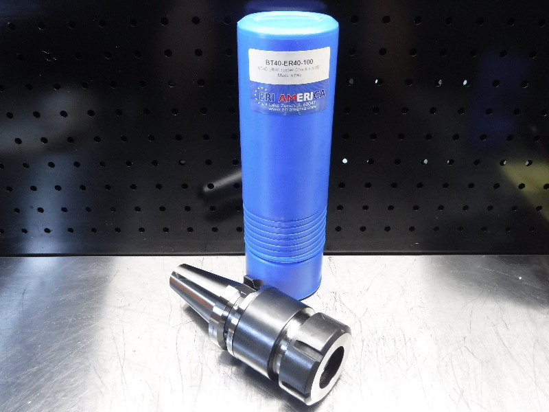 ERI America BT40 ER40 Collet Chuck 100mm Projection BT40-ER40-100 (LOC2046B)