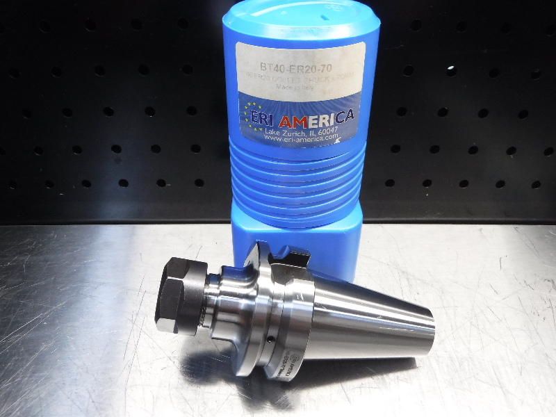 ERI America BT40 ER20 Collet Chuck 70mm Pro BT40-ER20-70 (LOC1828D)