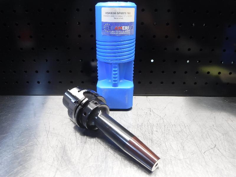 ERI America HSK 63A 6mm Shrink Fit 160mm Pro HSK63A-SF6MM-160 (LOC1893C)