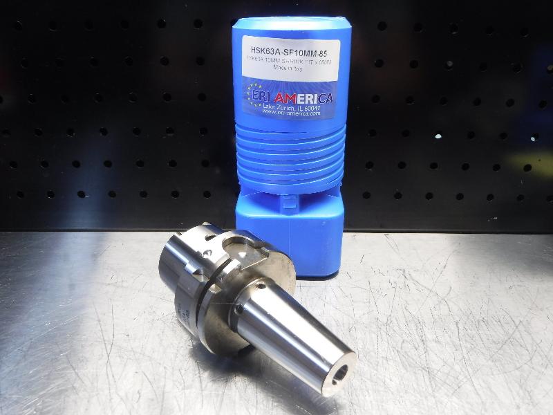 ERI America HSK 63A 10mm Shrink Fit 85mm Pro HSK63A-SF10MM-85 (LOC1893C)