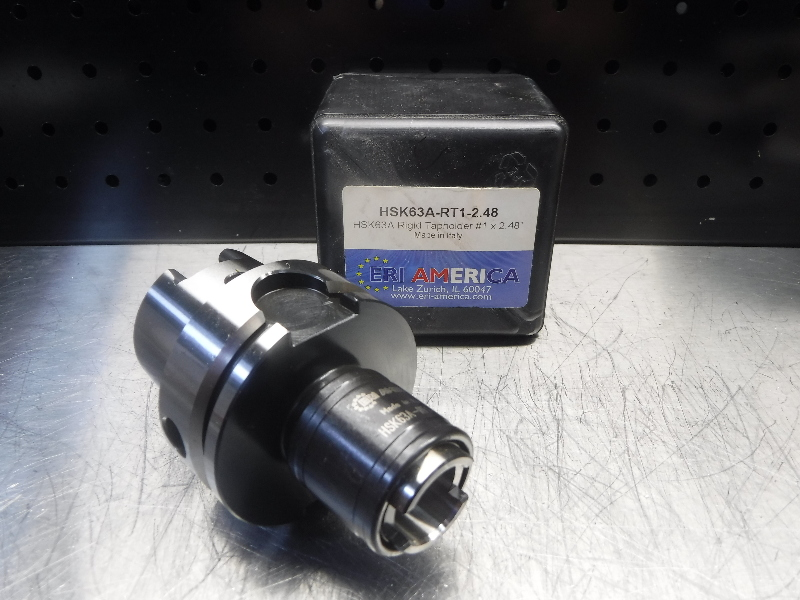 "ERI America HSK63A Bliz #1 Rigid Tap Chuck 2.48"" Pro HSK63A-RT1-2.48 (LOC1943B)"