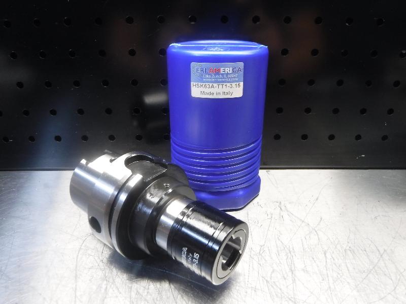 """ERI America HSK63A Bilz #1 T/C Tap Chuck 3.15"""" Pro HSK63A-TT1-3.15 (LOC1669)"""