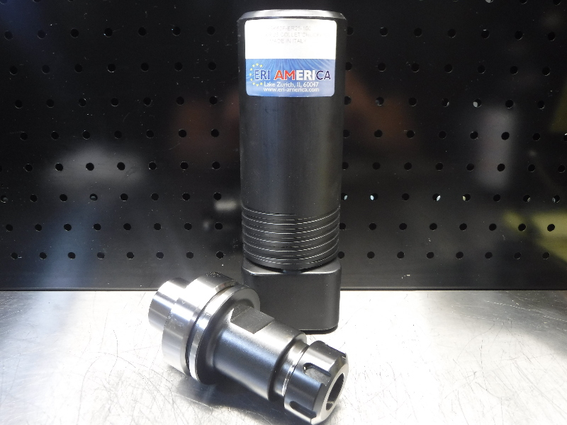 ERI America HSK63F ER25 Collet Chuck 100mm Pro HSK63F-ER25-100 (LOC1771)