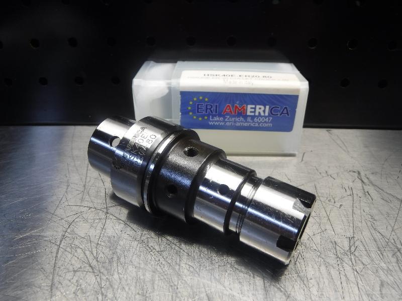 ERI America HSK40E ER20 Collet Chuck 80mm Pro HSK40E-ER20-80 (LOC327)