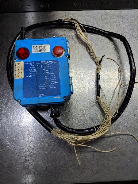 Telecrane Industrial Radio Remote Controller Receiver F22-6D-RX (LOC1114A)