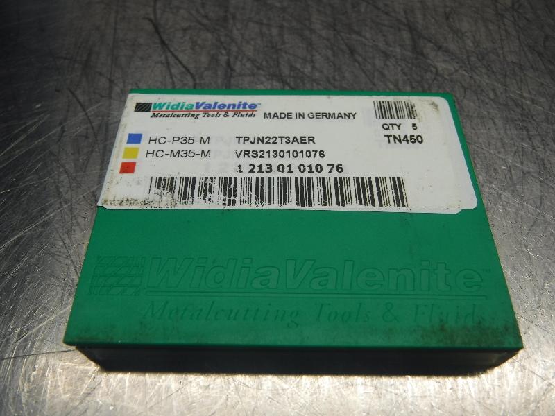 Widia Valenite Carbide Inserts (P) TPJN22T3AER TN450 (LOC1134A)