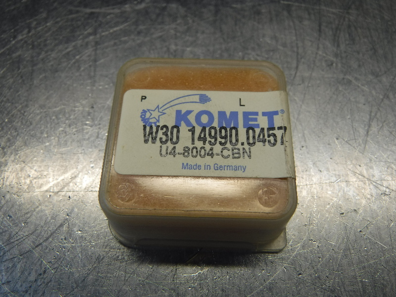 Komet Carbide Insert QTY1 - W30 14990.0457 CBN (LOC1134B)