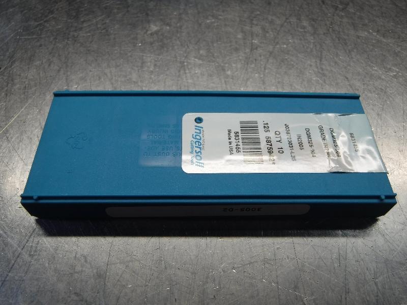 Ingersoll Carbide Insert QTY:10 NNE324-108 IN2030 LOC1163C