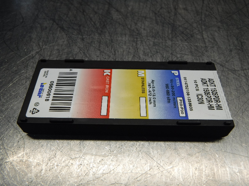 ADKT 150532R HM IC928 ISCAR *** 10 INSERTS *** 1 FACTORY PACK