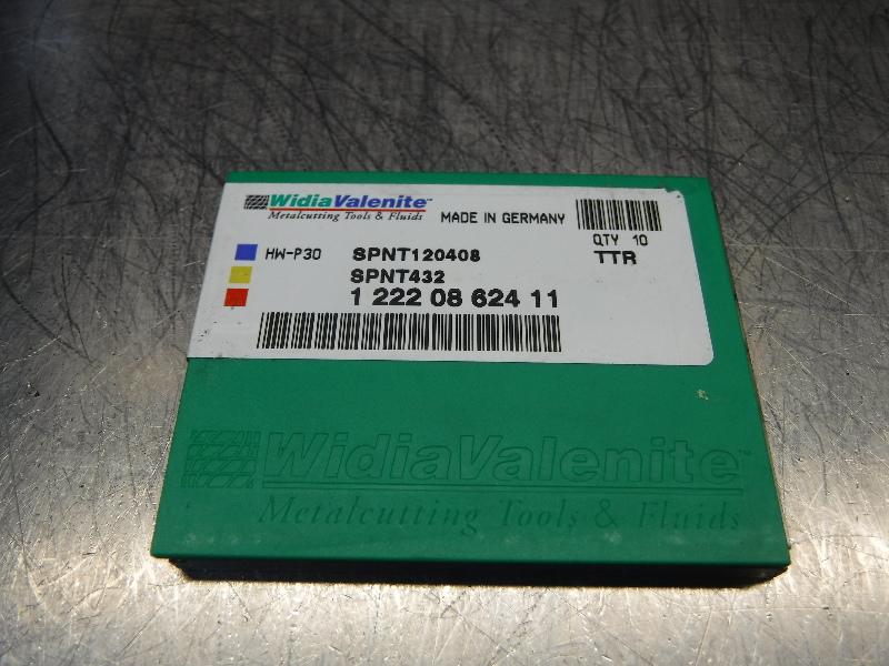 Widia Valenite Carbide Inserts QTY10 SPNT120408 / SPNT432 TTR (LOC1197B)