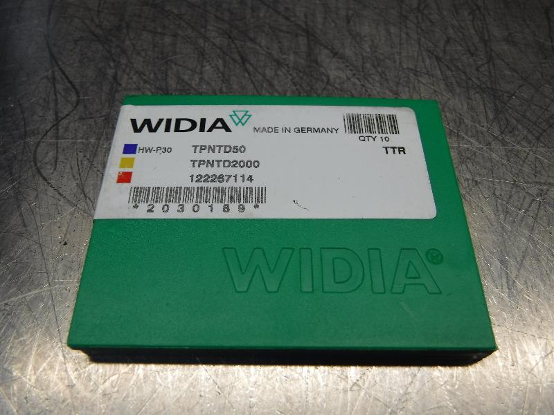 Widia Valenite Carbide Inserts QTY10 TPNTD50 / TPNTD2000 TTR (LOC1197B)
