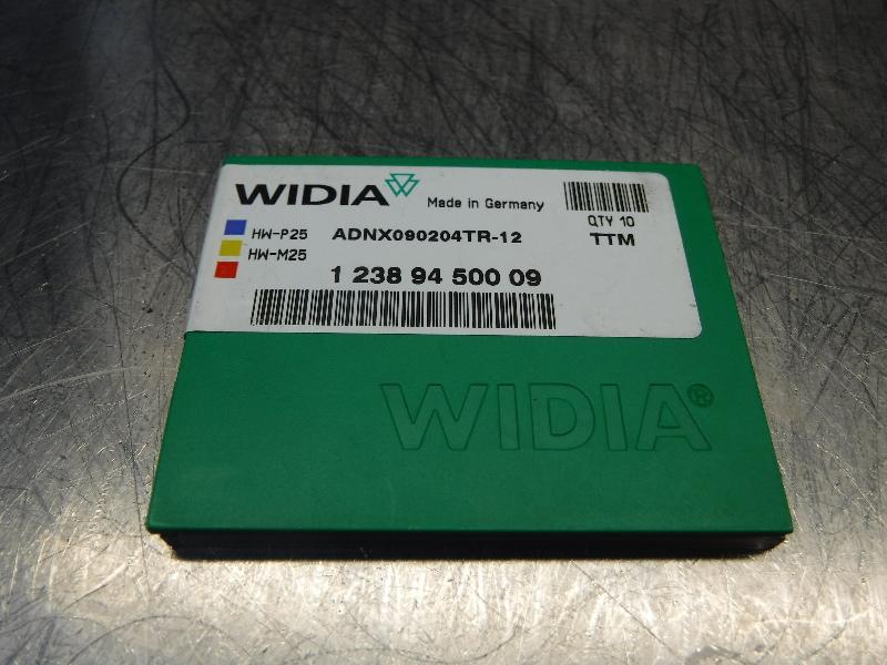 Widia Valenite Carbide Inserts QTY10 ADNX090204TR-12 TTM (LOC1197B)