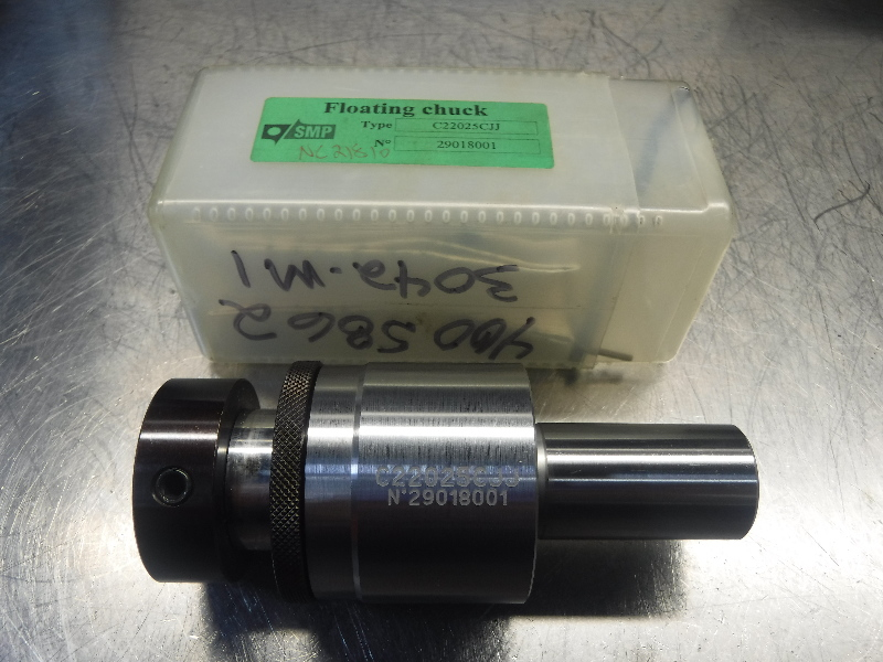 "SMP 7/8"" Self-Aligning Floating Reamer Chuck C22025CJJ (LOC1713A)"