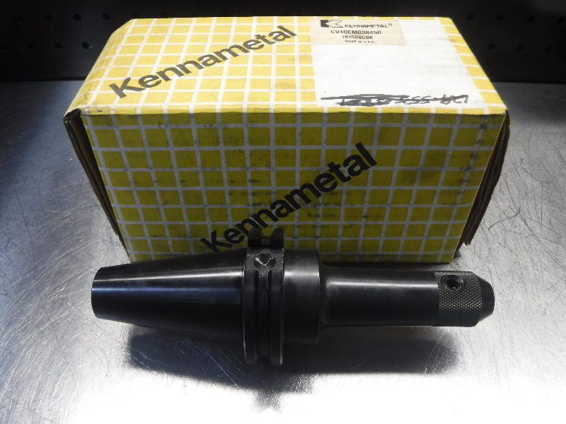 "Kennametal 3/8"" CAT40 Endmill Holder CV40EM038450 (LOC1713A)"