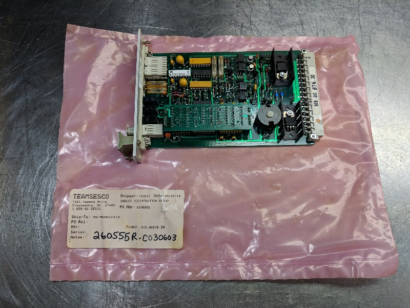 Teamsesco Servo Amplifier 919.00.876.20 (LOC1484)