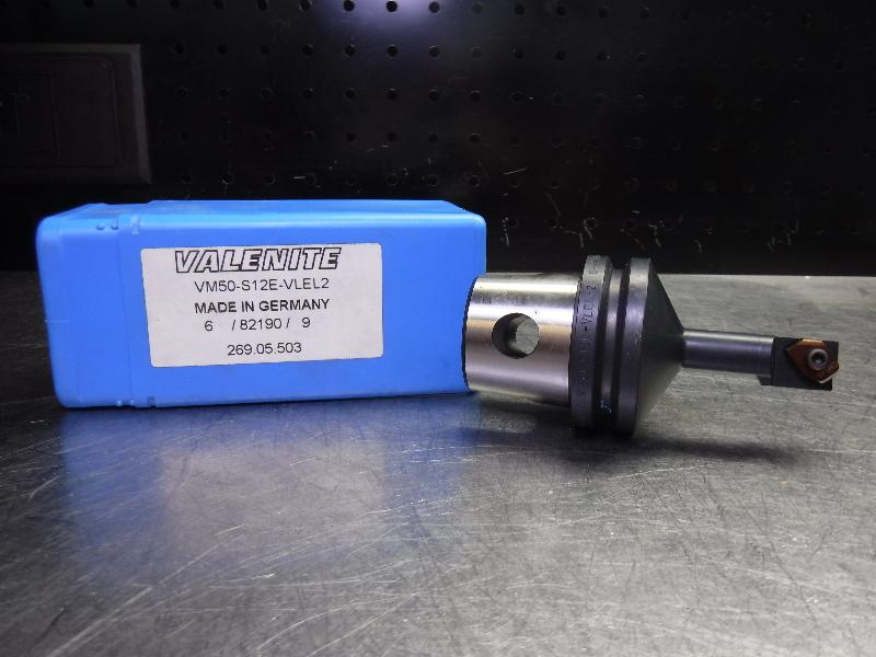 Valenite VM50 Steel Boring Bar Head VM50-S12E-VLER2 (LOC1213D)