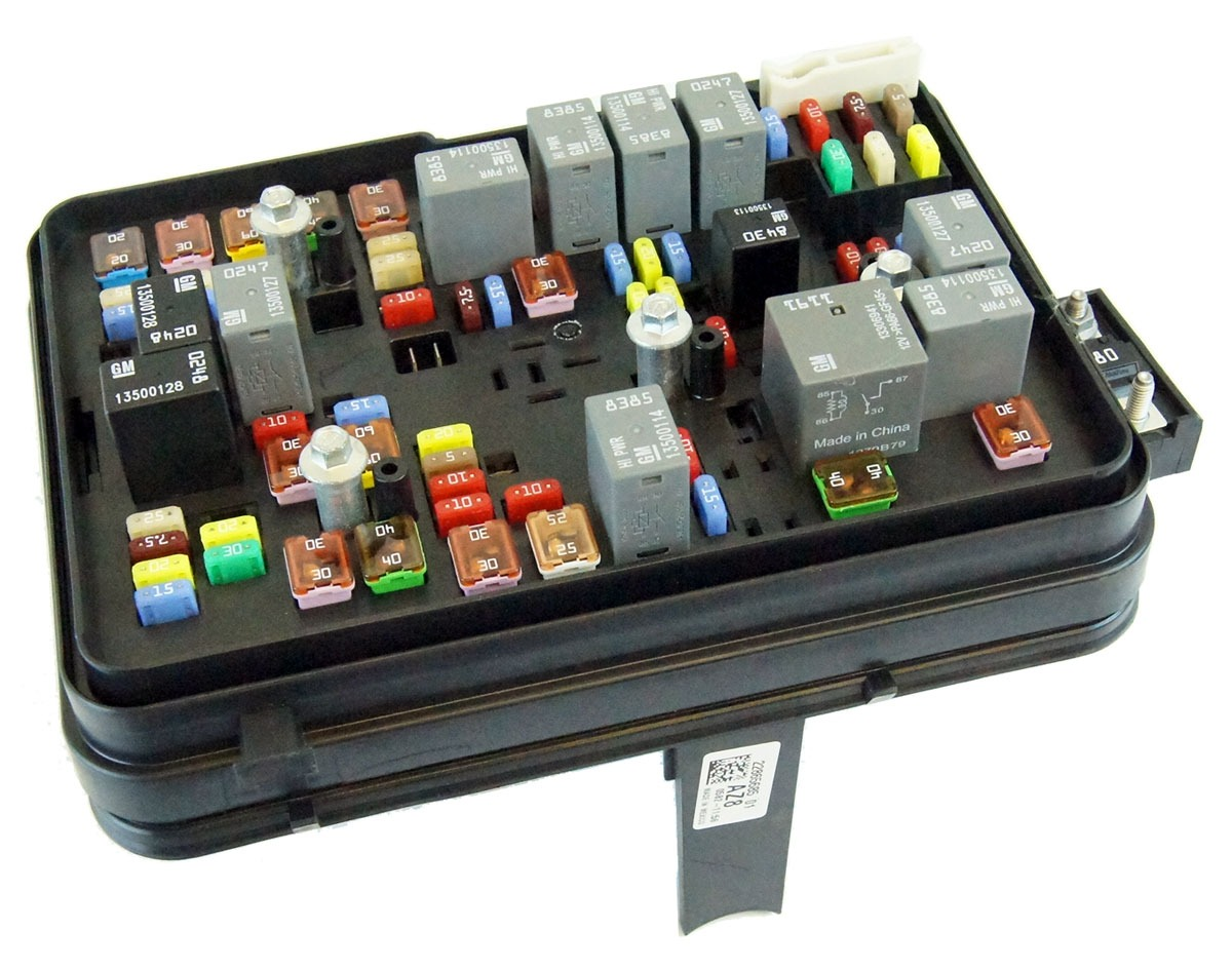 2000 Sts Fuse Box 17 Wiring Diagram Images Diagrams In 1997 Cadillac Deville 22865685 2011 2012 Gmc Terrain Equinox 24l Engine Compartment Block Relays