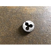 "10-80 X 13/16"" HIGH SPEED STEEL ROUND ADJUSTABLE DIE"