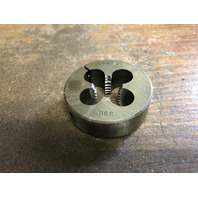 "5/8""-11 X 2"" HIGH SPEED STEEL LEFT HAND ROUND ADJUSTABLE DIE"