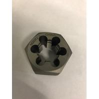 M20 X 2.50 CARBON STEEL HEXAGONAL RE-THREADING DIE