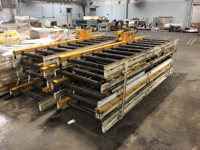 Details about Hytrol Powered Roller Conveyor 33