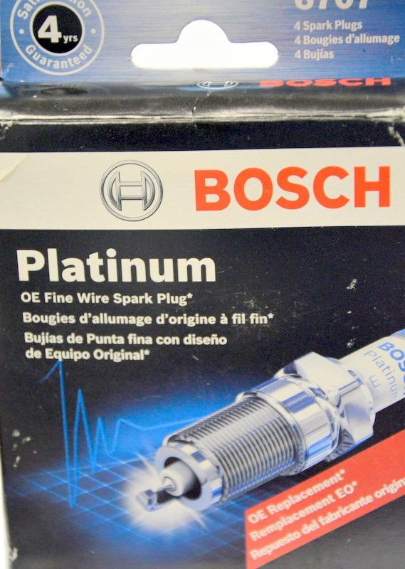 Pack of 4 Bosch 6724 Platinum Spark Plug