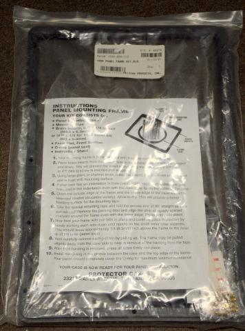 Pelican Protector for inside Case 1500-300-110 Panel Frame #1500 Kit