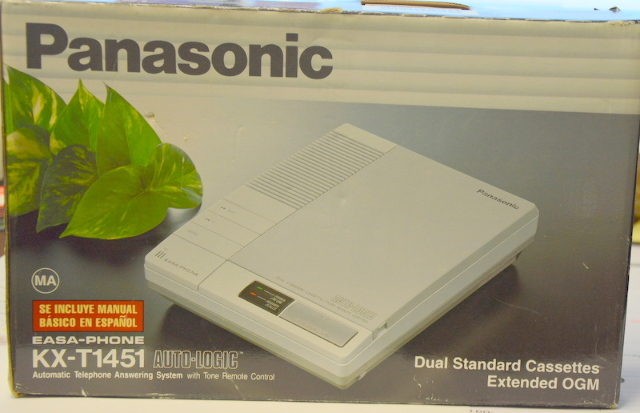 Panasonic Easa Phone KX-T1451 Automatic Telephone Answering Machine
