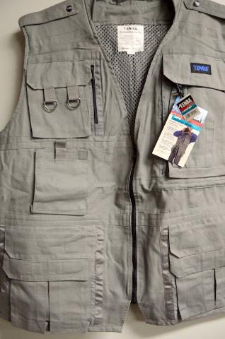 Tenba Professional Photo Vest Gray - Size Large #P2020