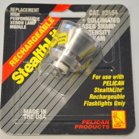 Pelican Stealthlite #2454 Collimated Laser Sharp Hi Intensity Rechargeable Beam