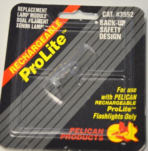 Pelican ProLite Rechargeable Replacement lamp module for ProLite Flashlight #3552