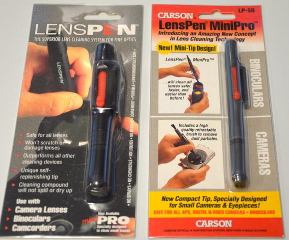1-LensPen MiniPro #LP-50 and 1-LensPen L-003 - Lens Cleaning Technology.