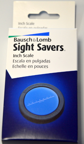 Bausch & Lomb Inch Scale for Measuring Magnifier #813437
