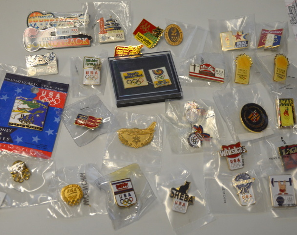 35 - USA 1996 Olympic Sponsers Pins - All new #5089