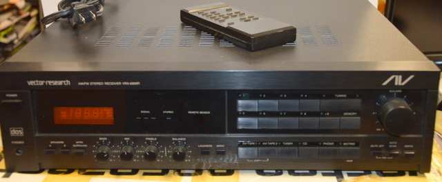 Vintage Vector Research VRX-6200R AM/FM Stereo Receiver