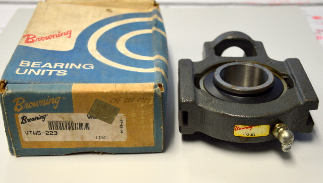 "Browning Bearing Unit #VTWS-223, 1 7/16"" Side Mount Take Up Bearing"