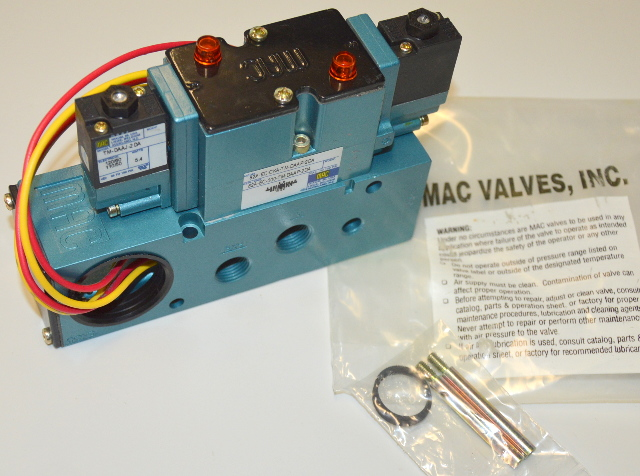 MAC 82A-EC-CKA-TM-DAAP-1DA  Solenoid Vavle with TM-DAAJ-2DA 5.4 WATT