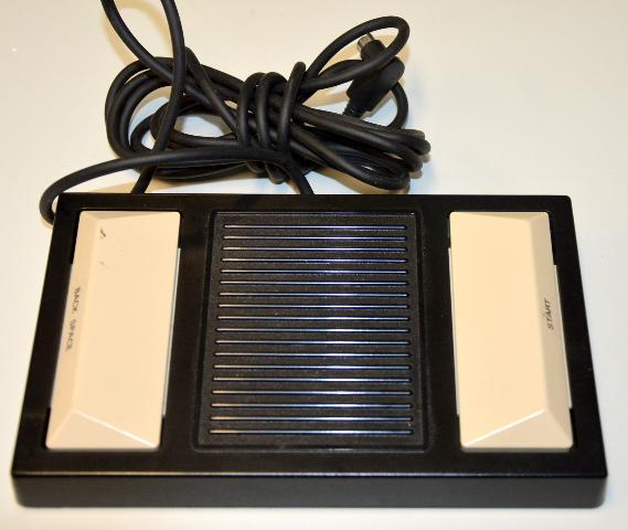 Panasonic Model RP-2692 Transcriber Foot Controller Pedal for RR-830 #RR-930