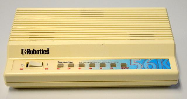 Vintage US Robotics Faxmodem Sportster #0701 - no adapter