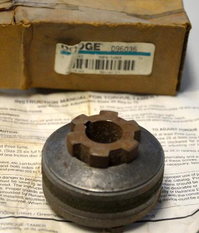 """Dodge #096036 Torque Tamer  25 x 3/4"""" KS - New Old Stock"""