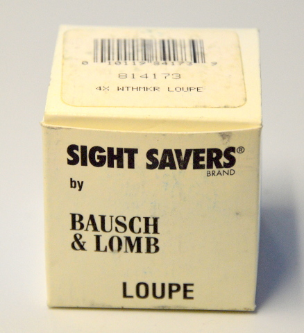 Bausch & Lomb #814173  4X Watchmaker's Loupe