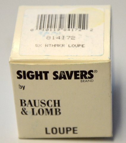 Bausch & Lomb #814172 5X Watchmaker's Loupe